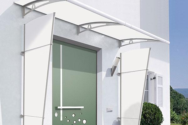 Pensiline e tettoie in acciaio inox legno ferro - Finestre in plexiglass ...
